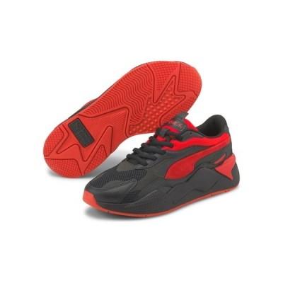プーマ メンズ スニーカー シューズ Puma RS-X3 Prism sneakers in black and red Puma black-high risk