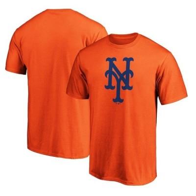 ファナティクス ブランデッド メンズ Tシャツ トップス New York Mets Fanatics Branded Official Logo T-Shirt