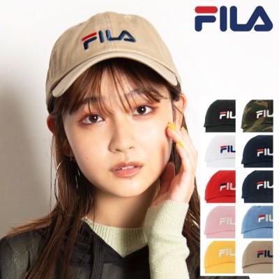 FILA キャップ メンズ レディース 185713520 フィラ | 帽子 ローキャップ サイズ調整可能