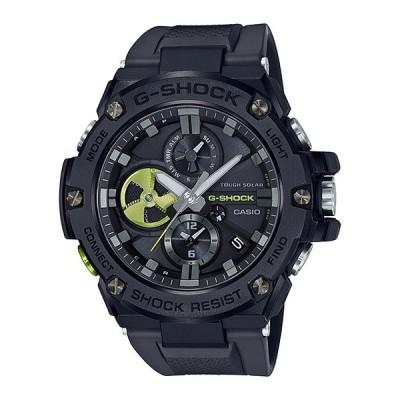 CASIO G-SHOCK カシオ Gショック Gスチール GST-B100B-1A3JF 腕時計 メンズ キッズ 子供 男の子 アナログ ソーラー ブルートゥース 防水 ブラック 黒