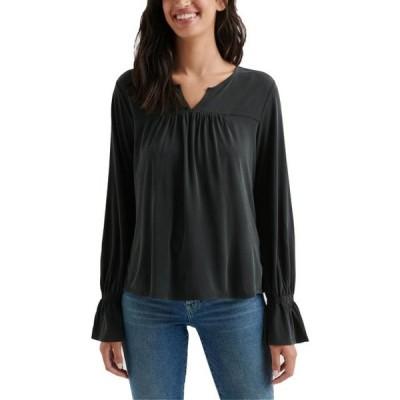 レディース 衣類 トップス Lucky Brand Womens Pintuck Long Sleeves Peasant Top ブラウス&シャツ