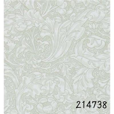 壁紙  張り替え おしゃれ 輸入  モリス ウィリアムモリス ウイリアム モリス    バチェラーズバトン 214738 ライトグレー イギリス製