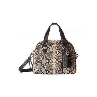Brighton ブライトン レディース 女性用 バッグ 鞄 ハンドバッグ サッチェル Ronan Mini Domed Satchel - Python