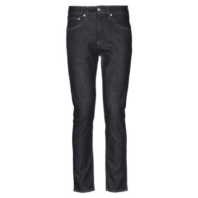 YOOX - CALVIN KLEIN JEANS ジーンズ ブルー 30W-30L コットン 98% / ポリウレタン 2% ジーンズ