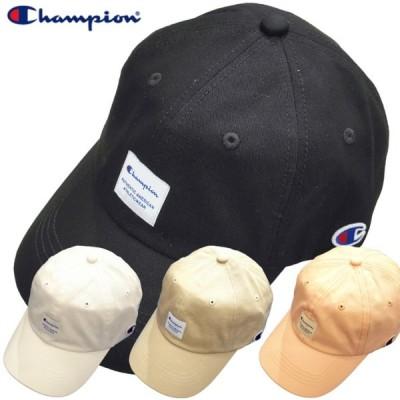 Champion キャップ チャンピオン コットン 帽子 ローキャップ シンプル  アメカジ ストリート