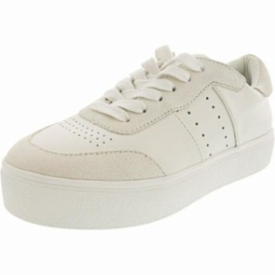 Madden メデン スポーツ用品 シューズ Steve Madden Womens Luck Leather Ankle-High Fashion Sneaker