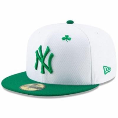 New Era ニュー エラ スポーツ用品  New Era New York Yankees White/Kelly Green 2019 St. Patricks Day On-Field 59FIFTY F