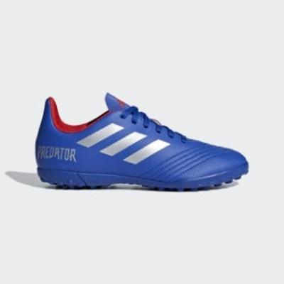 アディダス プレデター 19.4 TF J (CM8556) ジュニア(キッズ・子供) サッカー トレーニングシューズ : ブルー×シルバー adidas