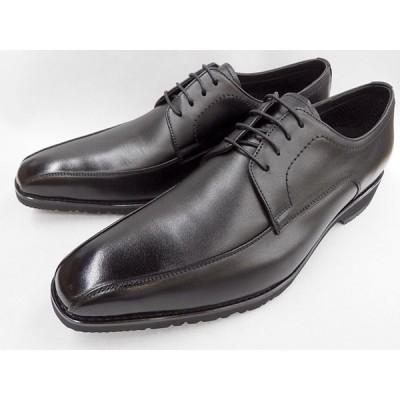 【GORE-TEX ゴアテックス 採用】 マドラスウォーク(madras Walk)防水ビジネスシューズ スワールモカレース MW8021(ブラック) メンズ 靴 【3Eワイズ】