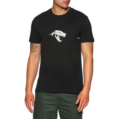 グローブ Globe メンズ Tシャツ トップス Dion Agius Hollow Short Sleeve T-Shirt Black