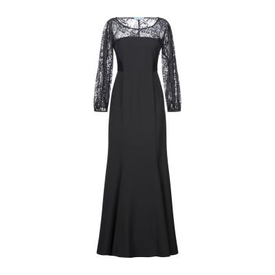 ブルマリン BLUMARINE ロングワンピース&ドレス ブラック 42 コットン 64% / ナイロン 36% ロングワンピース&ドレス