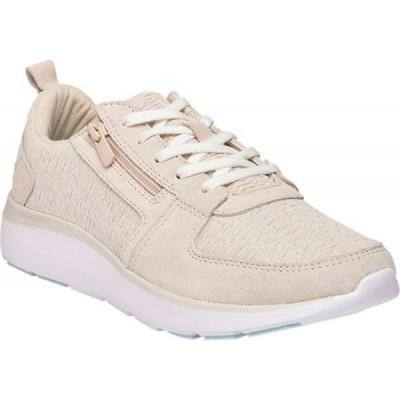 バイオニック Vionic レディース スニーカー シューズ・靴 Remi Sneaker Cream Textile/Leather