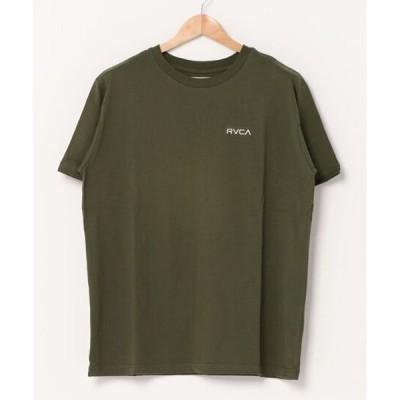 RVCA (ルーカ) RVCA MC TEE Tシャツ モスグリーン BA041-251