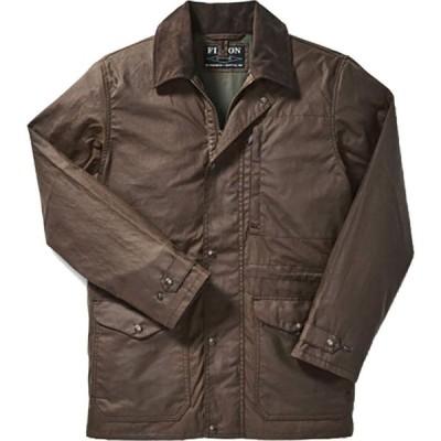 フィルソン Filson メンズ コート アウター Cover Cloth Mile Marker Coat Dark Earth
