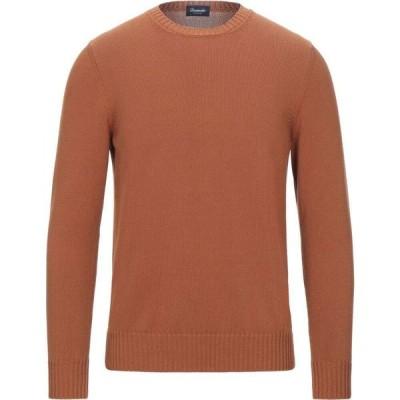 ドルモア DRUMOHR メンズ ニット・セーター トップス Sweater Tan