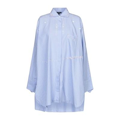 JEJIA シャツ アジュールブルー 40 コットン 100% シャツ