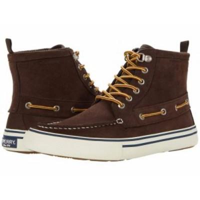 Sperry スペリー メンズ 男性用 シューズ 靴 ブーツ レースアップ 編み上げ Bahama Storm Boot Brown/Khaki【送料無料】