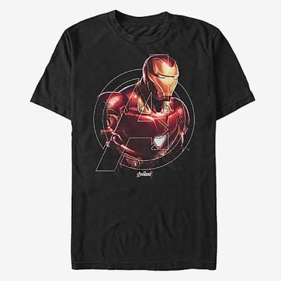 アイアンマン Tシャツ マーベル Marvel 半袖 アベンジャーズ エンドゲーム レディース メンズ