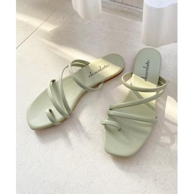 Shoe Fantasy / フラットストラップサンダル【日本製】 WOMEN シューズ > サンダル