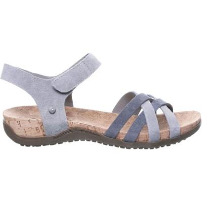 ベアパウ BEARPAW レディース サンダル・ミュール シューズ・靴 Meri Sandals Grey Fog