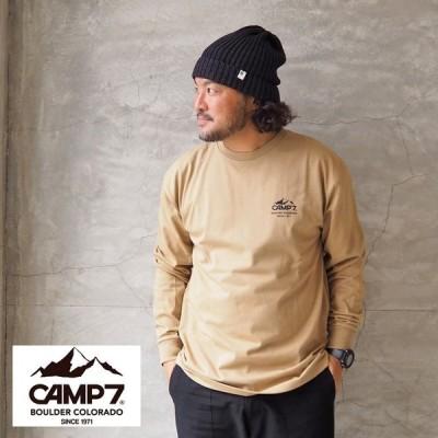 CAMP7 キャンプセブン ロンT LONG TEE CAP1-1027 メンズ レディース 長袖 Tシャツ 長袖Tシャツ ロングスリーブ フォトプリント
