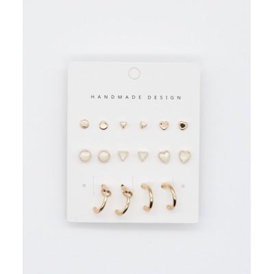 wears / pierce 8 set / ピアス8セット WOMEN アクセサリー > ピアス(両耳用)