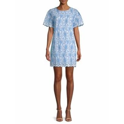 ランドリーバイシェルシーガル レディース ワンピース Embroidered Eyelet Cotton Shift Dress