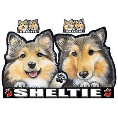 犬ステッカー/シェルティ5/シェットランドシープ/犬/ネーム入れ不可/シール/愛犬/雑貨/グッズ/