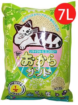 日本韋民超級貓環保豆腐貓砂-7L