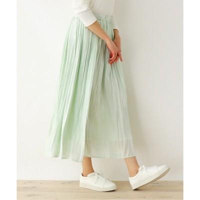 スカート 【M-LL】シャイニープリ−ツスカート