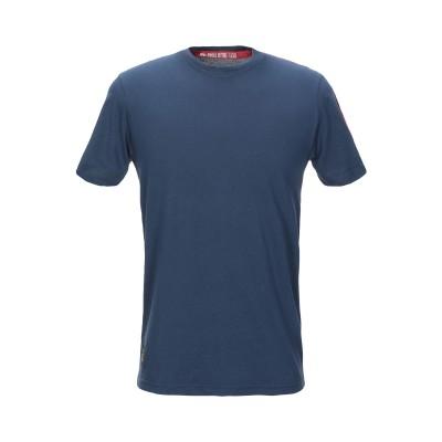 ALPHA INDUSTRIES T シャツ ブルー L コットン 100% T シャツ