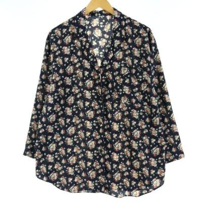 長袖 オープンカラーシャツ レディースL~XL /eaa028910