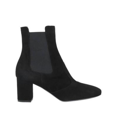 CARLA G. ショートブーツ ファッション  レディースファッション  レディースシューズ  ブーツ  その他ブーツ ブラック