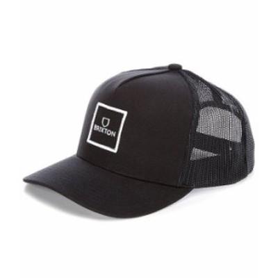 ブリクストン メンズ 帽子 アクセサリー Alpha Block XC MP Mesh Ballcap Black