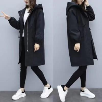 コート レディース30代 40代 アウター チュニック 韓国風 トレンチコート チェスターコート 裏起毛 着痩せ 大きいサイズ ロングコート フ