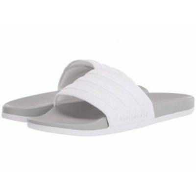 adidas アディダス メンズ 男性用 シューズ 靴 サンダル Adilette Comfort Slides Footwear White/Footwear White/Grey Two【送料無料】
