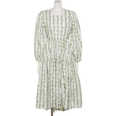 Garland Open Back Midi Dress