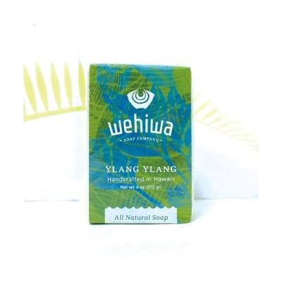 Wehiwa bar soap イランイラン 100%ナチュラル 手作り 石鹸 ソープ お土産 ギフト プレゼント
