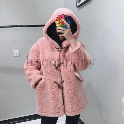 ジャケットアウター暖かい冬物おしゃれショートコート上着レディースオフィスOL通勤人気フェイクファー女性防寒毛皮コート