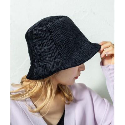 mystic / リバーシブルバケットハット WOMEN 帽子 > ハット