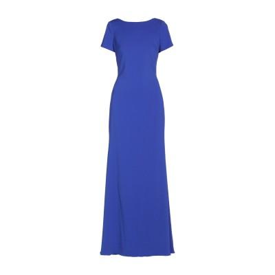 BADGLEY MISCHKA ロングワンピース&ドレス ブルー 0 ポリエステル 98% / ポリウレタン 2% ロングワンピース&ドレス