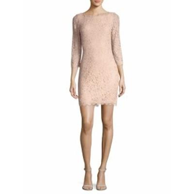 ダイアンフォンファステンバーグ レディース ワンピース Zarita 3/4  Sleeve Lace Dress