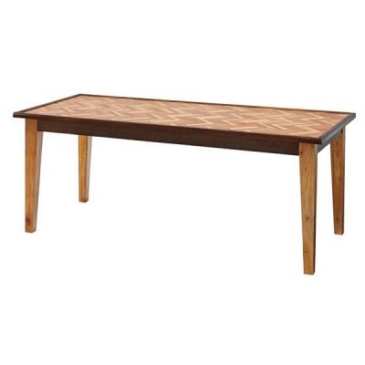 ダイニングテーブル 幅180×奥行90×高さ72cm ダイニング テーブル ヘリボーン おしゃれ 天然木 木製 GT-874