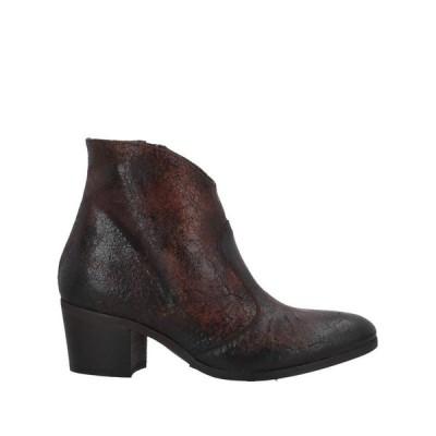 ELENA IACHI ショートブーツ  レディースファッション  レディースシューズ  ブーツ  その他ブーツ ブラウン