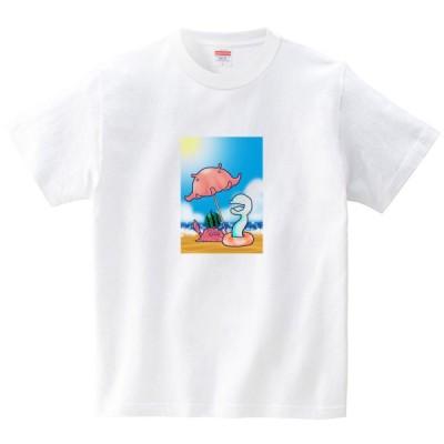 イタクシーズ Tシャツ [ しんかいの夏 ] あおまんぼう [メンズ]