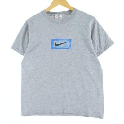 90s ナイキ NIKE プリントTシャツ USA製 メンズS /eaa051064