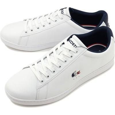 ラコステ LACOSTE メンズ カーナビー エヴォ M CARNABY EVO TRI 1 スニーカー 靴 WHT NVY RED ホワイト系 SMA0033L-407 SS20