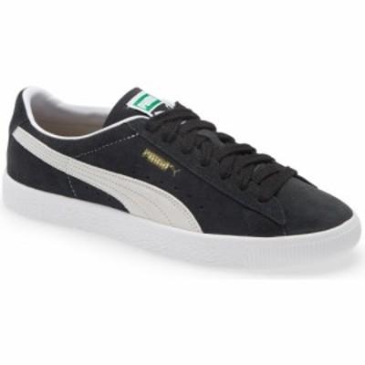 プーマ PUMA メンズ スニーカー シューズ・靴 Suede VTG Sneaker Puma Black/Puma White
