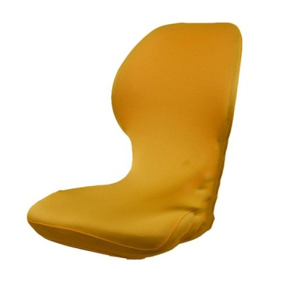 現代のコンピュータのオフィスの回転チェアカバー.弾性Antimacassar純粋な色 - ゴールデン