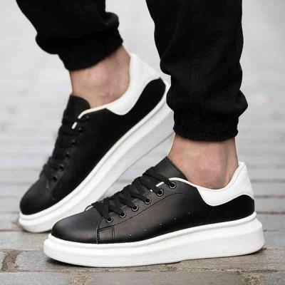 スニーカー メンズ 白 靴 黒 革 ブランド おしゃれ 軽い 軽量 レザー
